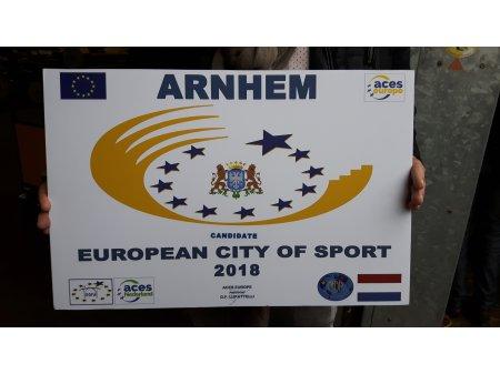 Arnhem, Europese sportstad van het jaar