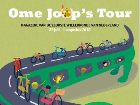 Programmaboekje Ome Joop's Tour 2018