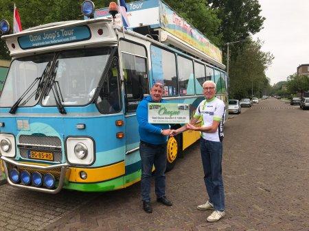 De Vael Ouwe sponsort OJT weer met €1.000,-