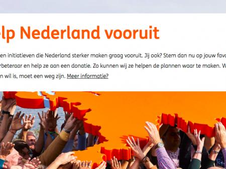 Help Nederland Vooruit: doneer aan Ome Joop's Tour