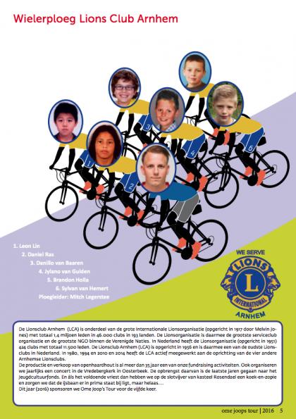 Lions Club Arnhem OJT2016