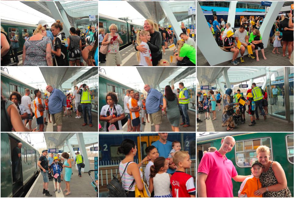 OJT 2018 Tussenstop Arnhem Collage