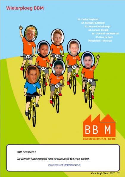 OmeJoopsTour 2017 Wielerploeg BBM