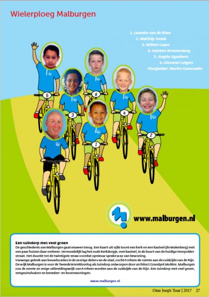 OmeJoopsTour 2017 Wielerploeg Malburgen