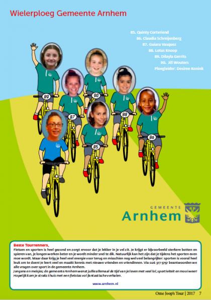 Wielerploeg Gemeente Arnhem 85 90